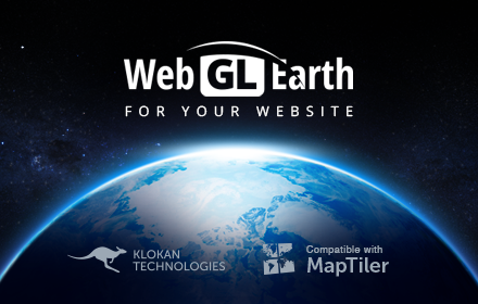 WebGL Earth - 3D digital globe for web and mobile devices